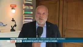 RTL INFO 13H : Inondations: conseils de l'UCM pour aider les indépendants et les PME