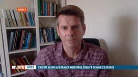 RTL INFO 19H : Intempéries: le point ce soir avec notre prévisionniste David Dehenauw