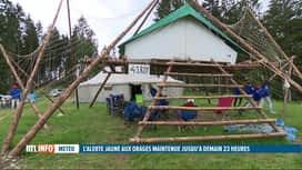 RTL INFO 19H : Inondations: tous les camps sous tentes interdits en province de Namur