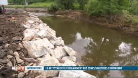 RTL INFO 13H : Inondations: la sécurisation des berges, une priorité pour les comm...