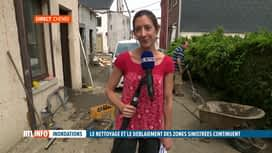 RTL INFO 13H : Inondations: des bénévoles se présentent spontanément dans les villes