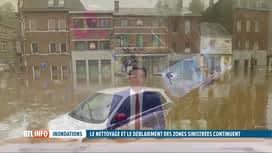 RTL INFO 13H : La pollution aux hydrocarbures, une autre conséquence des inondations