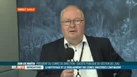 RTL INFO 13H : Inondations: quid du traitement des eaux dans les zones sinistrées ?