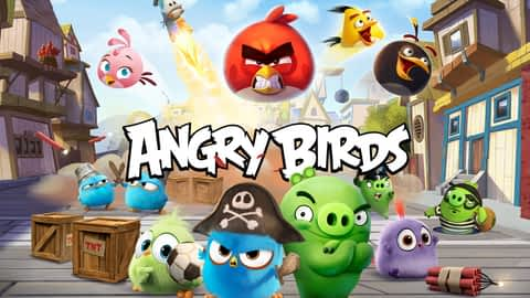 Angry Birds en replay