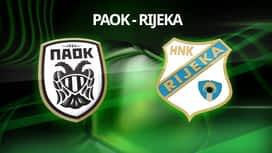 PAOK - Rijeka en replay