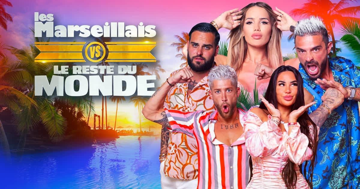 Les Marseillais VS Le Reste du Monde 6 – Episode 1,2 et 3,  du 30 Août 2021