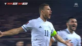 0 - 1 : La Bosnie ouvre le score (36')