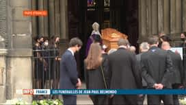 RTL INFO 13H : Les obsèques de Jean-Paul Belmondo ont eu lieu ce matin