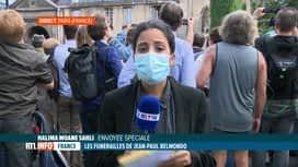 RTL INFO 13H : Funérailles de Jean-Paul Belmondo, infos en direct