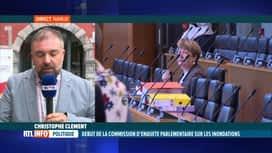 RTL INFO 13H : Les auditions de la Commission d'enquête inondations ont débuté