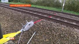 RTL INFO 13H : Le trafic ferroviaire interrompu entre Gembloux et Ottignies