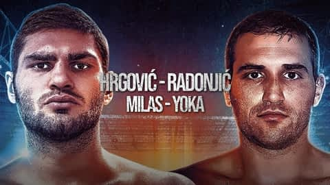 Boks: Hrgović-Radonjić / Milas-Yoka en replay