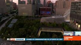 RTL INFO 13H : Attentats du 11 septembre, 20 ans après: New York se souvient