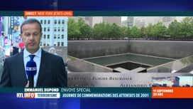 RTL INFO 13H : Attentats du 11 septembre, 20 ans après: les hommages à New York