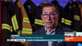 RTL INFO 13H : Attentats du 11 septembre, 20 ans après: le pompier Dan Nigro témoigne