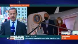 RTL INFO 13H : Attentats du 11 septembre, 20 ans après: Joe Biden ne prendra pas l...
