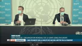 RTL INFO 13H : Coronavirus: l'OMS estime que les vaccins seuls n'éradiqueront pas ...