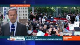 RTL INFO 19H : Attentats du 11 septembre, 20 ans après: l'atmosphère à New York