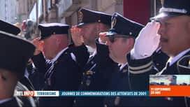 RTL INFO 19H : Attentats du 11 septembre, 20 ans après: 4 pompiers de Huy sont à N...