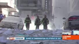 RTL INFO 19H : Attentats du 11 septembre, 20 ans après: les pompiers ont payé un l...