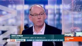 RTL INFO 19H : Attentats du 11 septembre, 20 ans après: l'analyse de Serge Jaumain