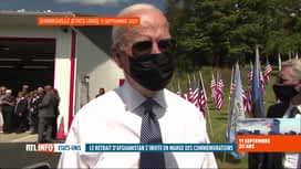 RTL INFO 13H : 20 ans des attentats du 11/9: Joe Biden justifie le retrait d'Afgha...
