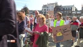 RTL INFO 13H : Inondations: une marche citoyenne entre Verviers et Pepinster
