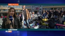 RTL INFO 13H : Grande opération de nettoyage aux étangs d'Ixelles