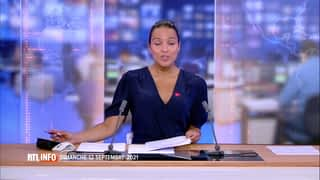 RTL INFO 19H : RTL INFO 19 heures (12/09/21)