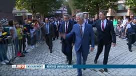 RTL INFO 13H : Le Roi inaugure la rentrée universitaire à Louvain-la-Neuve