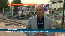 RTL INFO 19H : Rentrée universitaire en présentiel, infos en direct