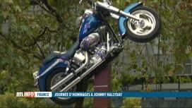 RTL INFO 13H : Bercy: hommage à Johnny Hallyday, 4 ans après son décès