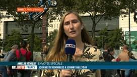 RTL INFO 13H : Hommage à Johnny Hallyday: en direct de Bercy avec Amélie Schildt