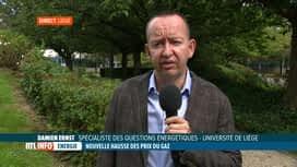 RTL INFO 13H : Damien Ernst évoque l'augmentation des prix de l'énergie