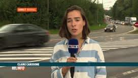 RTL INFO 19H : Beersel: le ring de Bruxelles bloqué en raison d'un camion renversé