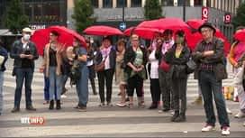 RTL INFO 19H : Charleroi: manifestation après un féminicide en août dernier à Marc...
