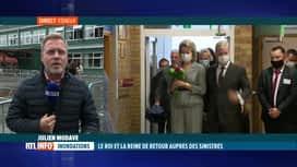 RTL INFO 13H : Inondations, 2 mois après: les souverains terminent leur visite à E...