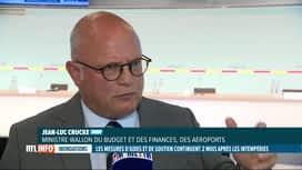 RTL INFO 19H : Inondations, 2 mois après: comment la Région wallonne va-t-elle...