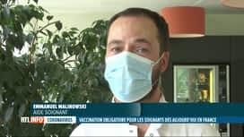 RTL INFO 19H : Coronavirus: l'obligation vaccinale des soignants entre en vigueur ...