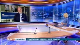 RTL INFO 13H : C'est officiel: le Covid safe ticket a été approuvé à Bruxelles