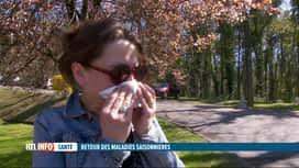 RTL INFO 13H : Vers un retour des maladies saisonnières ?