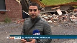 RTL INFO 13H : A Dalhem, la colline de la rue Joseph Dethier bouge de 3cm chaque jour