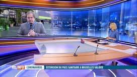 RTL INFO 13H : Pass sanitaire à Bruxelles : l'avis de Fabian Hermans