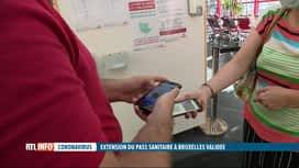 RTL INFO 19H : C'est officiel: le Covid safe ticket a été approuvé à Bruxelles
