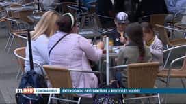 RTL INFO 19H : Pass sanitaire à Bruxelles : les réactions des différents secteurs
