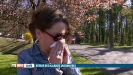 RTL INFO 19H : Les maladies saisonnières sont de retour : n'oubliez pas les gestes...