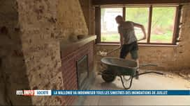 RTL INFO 19H : Inondations en Wallonie: la Région complète l'indemnisation des ass...