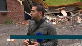 RTL INFO 19H : A Dalhem, la colline de la rue Joseph Dethier bouge de 3cm chaque jour