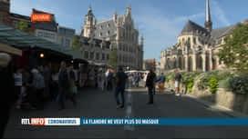 RTL INFO 13H : Coronavirus: la Flandre veut se débarasser des masques de protection