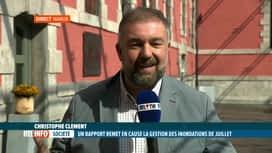 RTL INFO 13H : Inondations: le rapport devait être dévoilé en Commission inondations